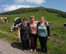 Agnès, Yvette & Pauline en osmose