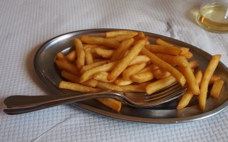 Ah les frites !!!