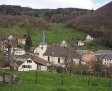 Le beau village de Wasserbourg