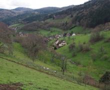 La montée en fond de vallée