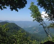 1ère vue sur la vallée de Thann