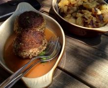 Boulettes de viande du pot-au-feu d\'hier