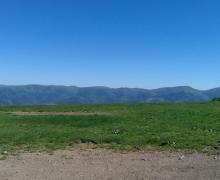 Là, en bas, la vallée de Thann