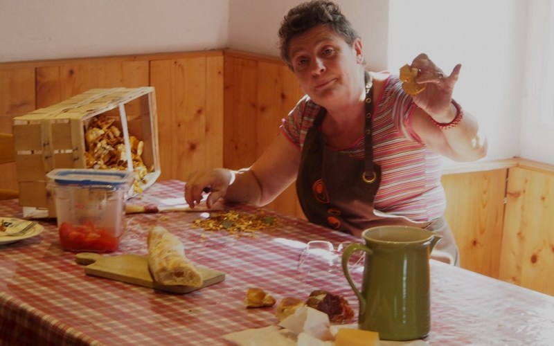 La Maman aux champignons