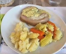 Gastronomique tête de veau