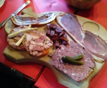 The charcuterie !