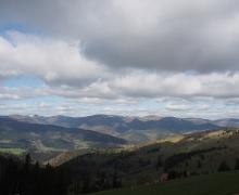 Une randonnée entre terre et ciel