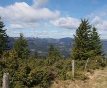 Des points de vue sur deux vallées