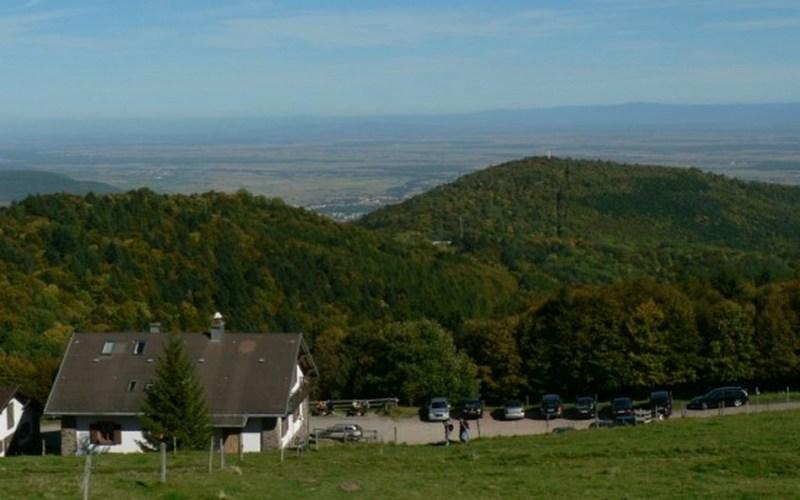 Vue sur la plaine d\'Alsace