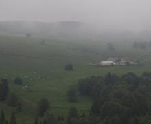 Col d\'Oberlauchen : vue sur la vallée de Métzeral