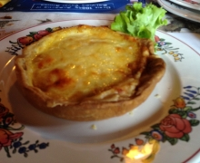 Quiche au Bargkaas