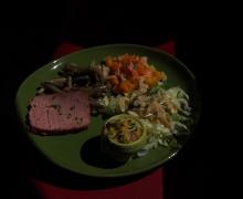 Salades et terrine maison