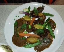 Sauté de veau - légumes printaniers