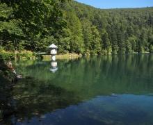 Le lac du Ballon au retour 2