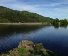 Point de départ : le lac d'Alfeld