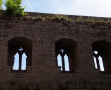 Les ruines du Spesbourg