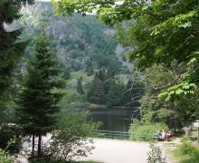 Lac du Forlet ou des Truites
