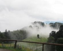 Les nuages se lèvent au Schafert