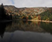 Lac des Truites et Gazon de Faîte