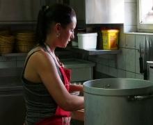 Julie en cuisine
