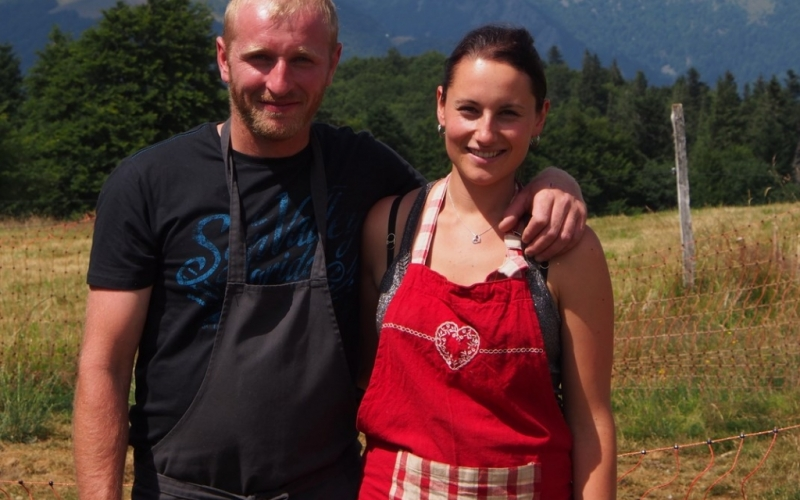 Julie et Michel, maitres des lieux