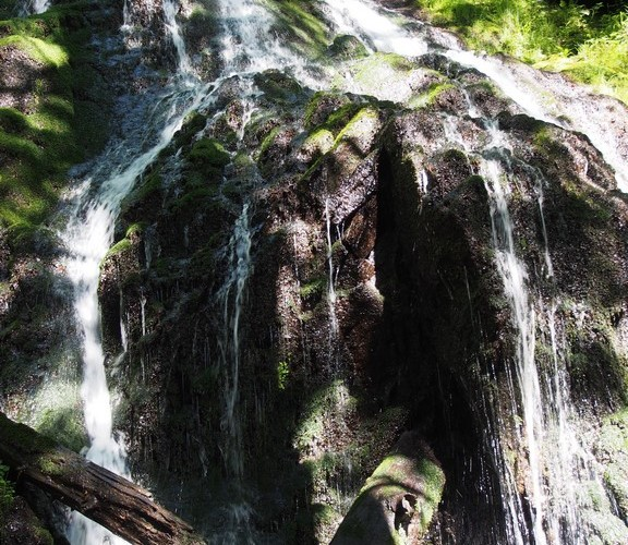 Les cascades du Wagenstallbach