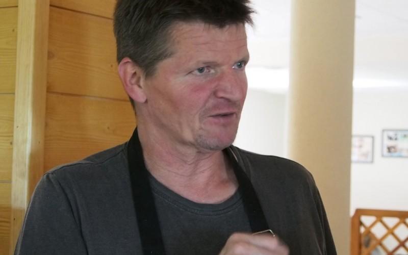 Philippe en cuisine