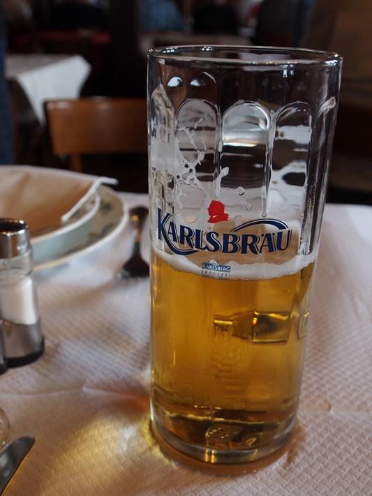 Une bonne bière allemande
