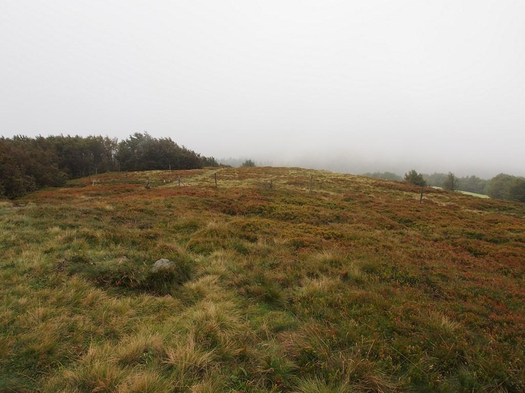 Le Nonselkopf au loin (sous la brume encore)