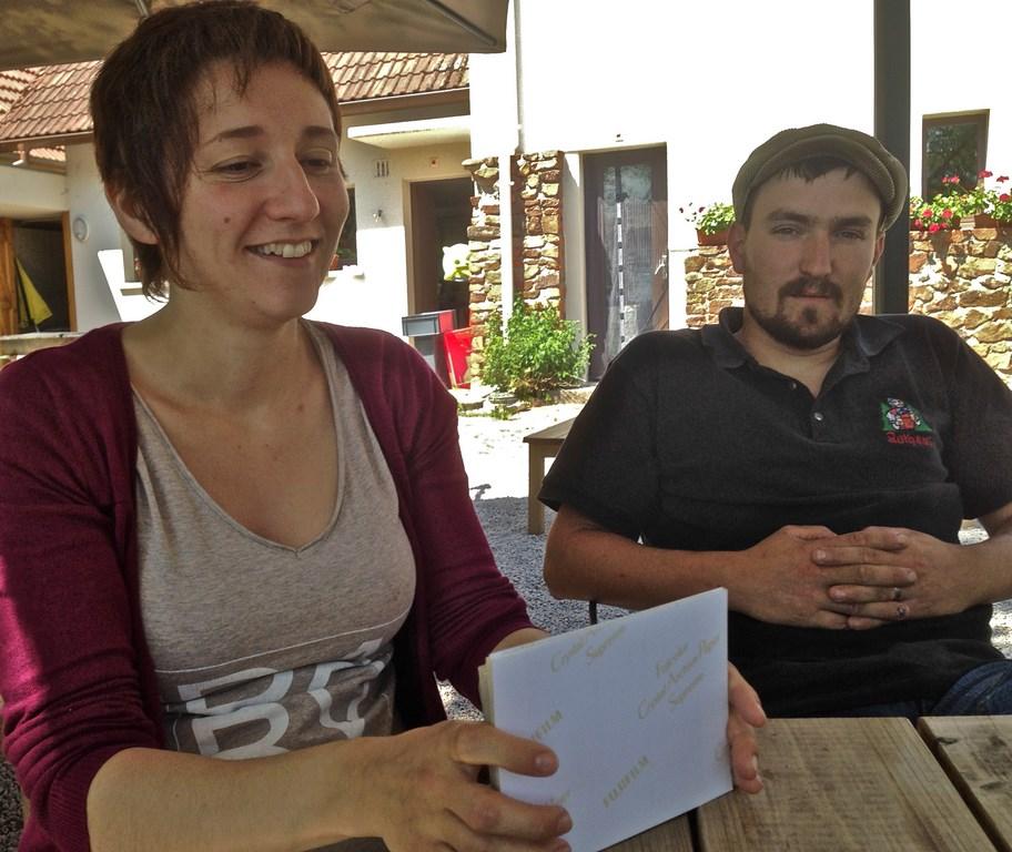 Caroline Welker et Baptiste Jenn