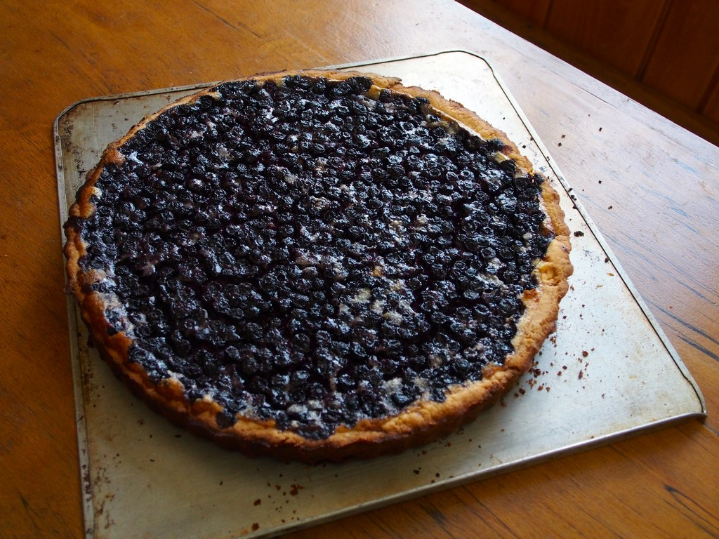 Belle tarte - myrtilles congelées