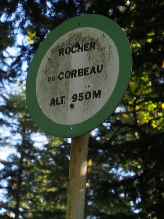 Rocher du Corbeau