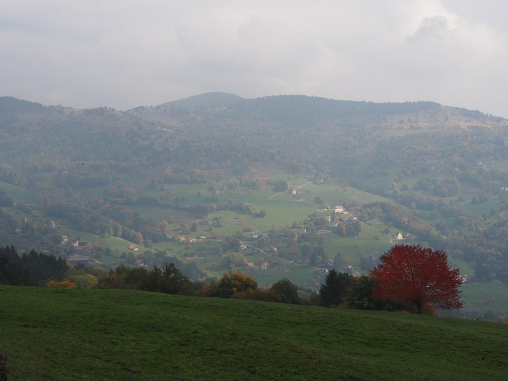 Le Soulrzesmat et la vallée de Munster
