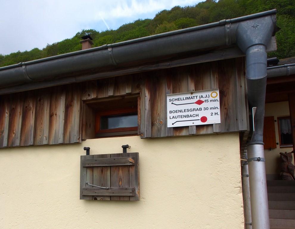 Croisée de chemins au Strohberg
