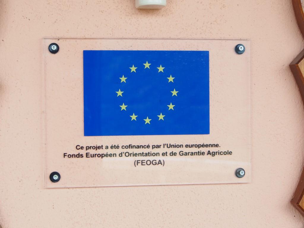 Subvention de l'Europe