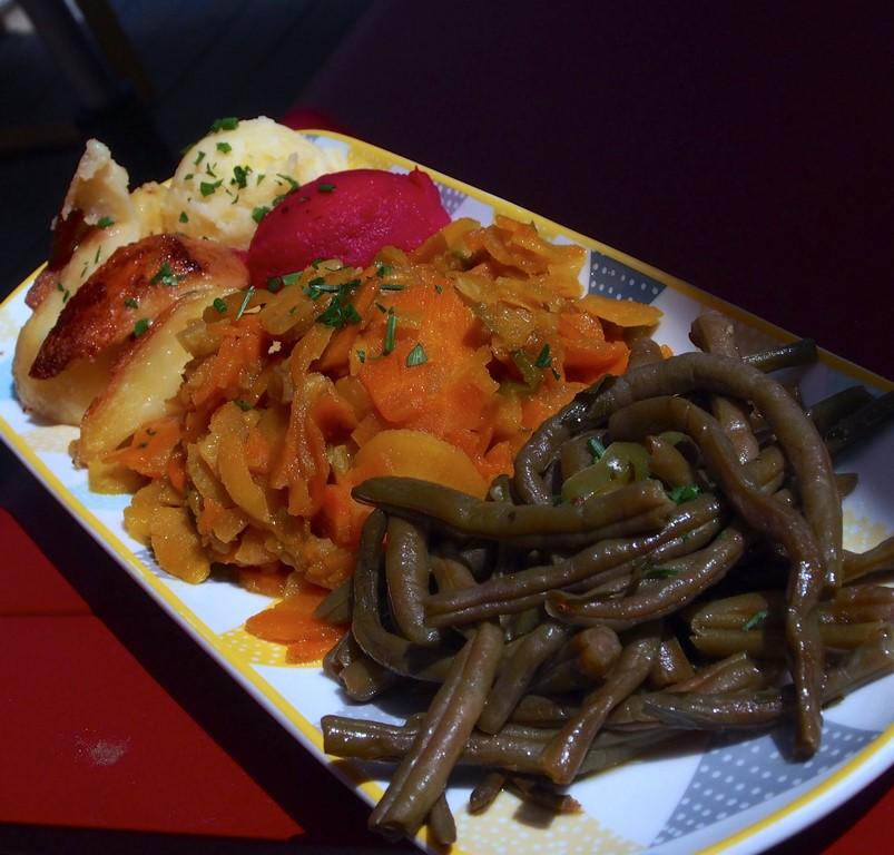 Les beaux légumes du potager d'Artzenheim