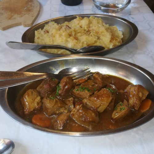 Sauté de veau ou boeuf bourgignon